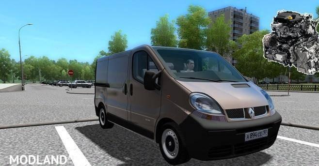 Renault Trafic Custom Diesel Sound [1.5.4]